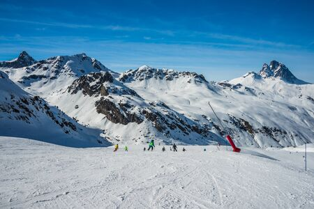 Mountains from Formigal winter resort.