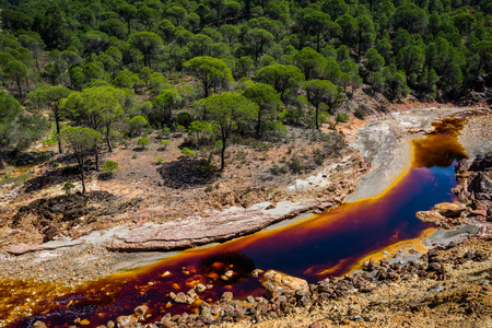 Rio Tinto, Andalusia, Spain. Stock Photo - 92662652