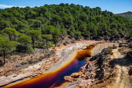 Rio Tinto, Andalusia, Spain. Standard-Bild