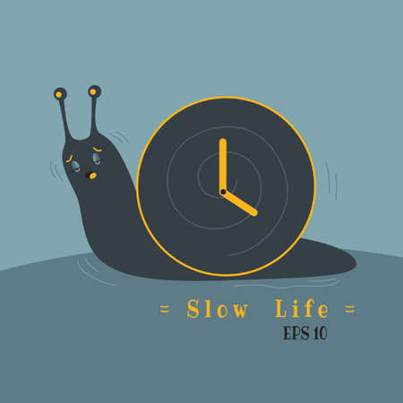 sometime, feel your life too slow like lazy snail
