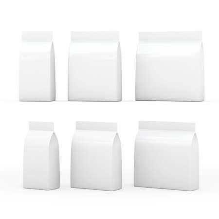 White  bag  packet