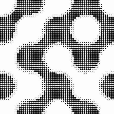 Seamless  abstract halftone dot vector Illustration