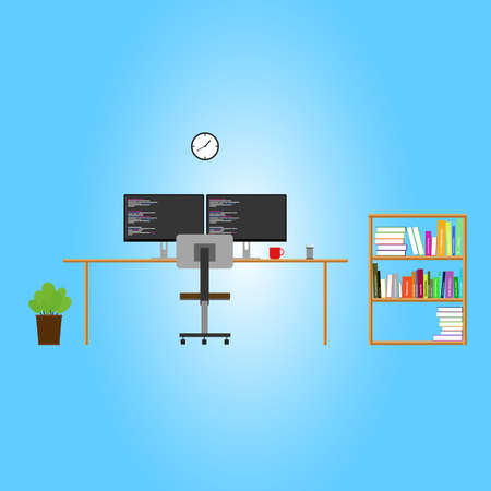 espacio de trabajo: espacio de trabajo del programador