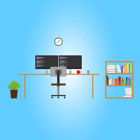 workspace: programmer workspace