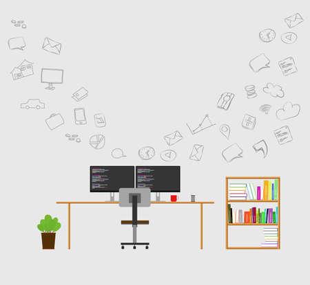conectividad: la comunicaci�n de datos de �rea de trabajo y conectividad