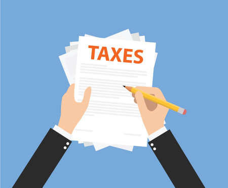 paying taxes and manage all taxes document