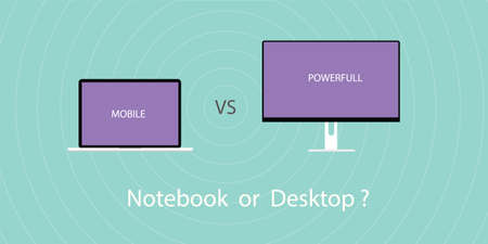 comparing: Comparing between notebook or laptop with pc desktop