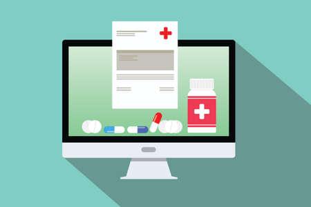 online doctor medical consultation pils capsule medical document