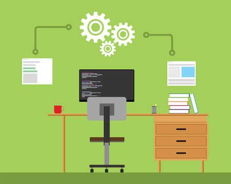 workspace: software engineering development workspace