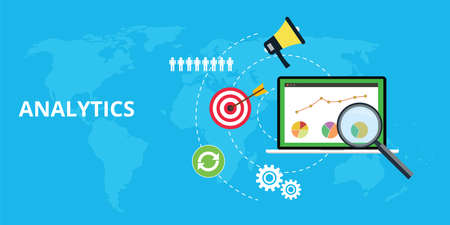 google: analytics and maintain website traffic graph and chart