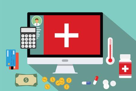 ヘルスケア: 医療の医療費のお金医療費を費やす