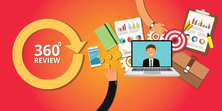 360 degree review for human resource development company worker employee