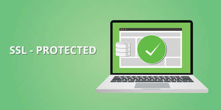 ssl certified protection for website security from hacking