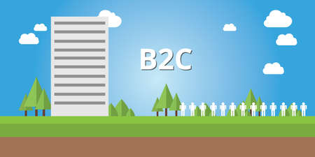b2c: b2c business to customer corporate and company strategy