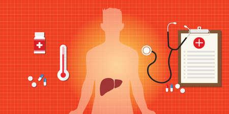 hepatitis a b c liver disease human organ virus medicine vector