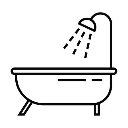 icon with outline and line style vector illustration 版權商用圖片 - 111578468