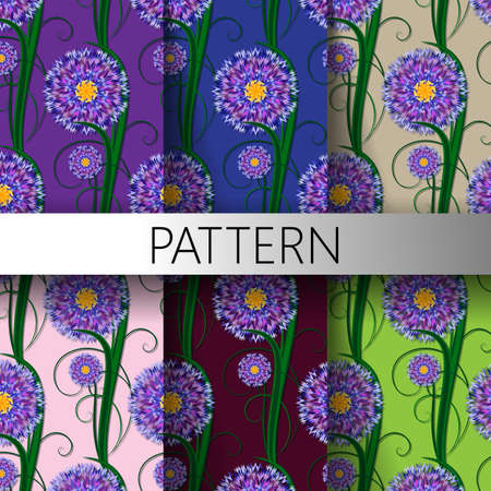 Seamless pattern nature, floral, background, wallpaper, decoration, texture Imagens - 84512143