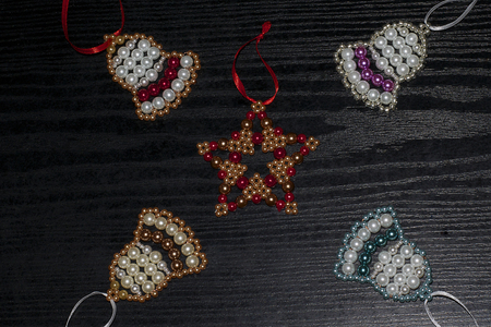 colorful christmas decorations