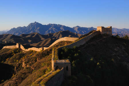 blue wall: Beijing Great Wall of China