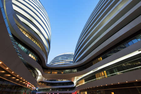 developers: Beijing, China- February 26st, 2015:. The SOHO office is Chinas largest high-quality office real estate developers. The Milky way (Zaha Hadid) is the latest property held in Beijing.
