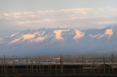 xinjiang: Xinjiang Tianshan Mountains Chinese snow mountain