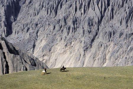 xinjiang: Kuitun Grand Canyon China Xinjiang