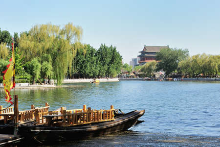 chinese dialect: Shichahai in Beijing, China