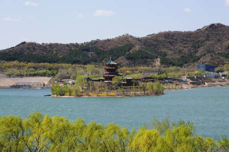tumbas: Dep�sito de Pek�n Tumbas Ming dinast�a Foto de archivo