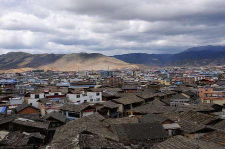 yunnan: Buildings in Shangri-La, Yunnan