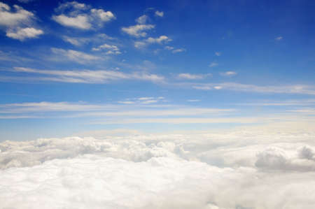 kingdom of heaven: Clouds in the blue sky