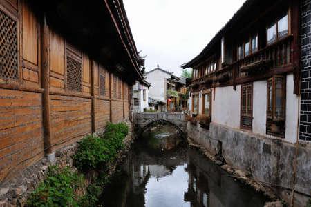 compile: Old town of Lijiang, Yunnan, China Stock Photo