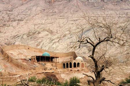 xinjiang: Paysage à Tuyugou, Xinjiang