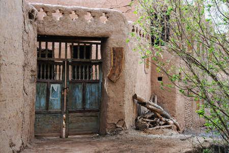 xinjiang: Maison � Tuyugou, Xinjiang �ditoriale