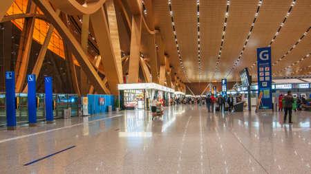 shiny floor: Kunming Changshui International Airport Editorial