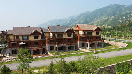 holiday villa: Beijing Ao Lunda tribe holiday villa