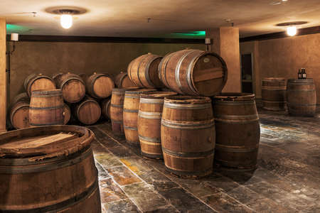 casks: Wine cellar