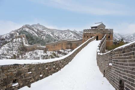 jinshanling: Beijing Jinshanling snow the Great Wall