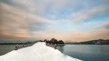 summer palace: The snow of Beijing the Summer Palace Editorial