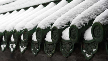 temple of heaven:  temple of heaven in the snow
