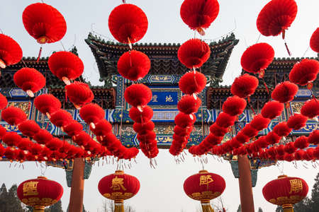 traditional culture: Chinese traditional culture, Beijing Ditan temple fair Editorial