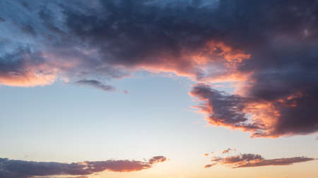 Sunset with sky