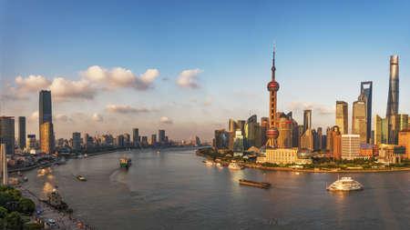 Beautiful Shanghai Bund,