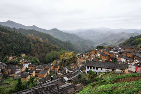 loess: The Earthen Building Scene of Anhui Province in China