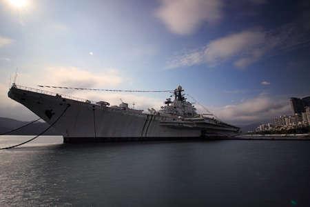 aircraft carrier: Shenzhen Minsk aircraft carrier