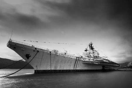 the carrier: Soviet aircraft carrier Minsk Editorial