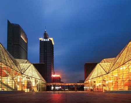 architectural lighting design: City Centre buildings
