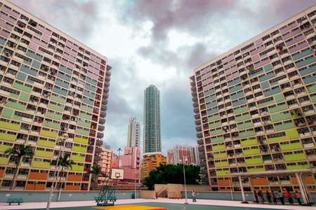 public housing: Choi Hung Estate in Hong Kong public housing estates