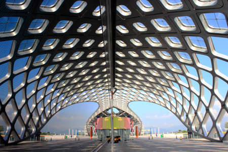 venues: Sporting venues external structures