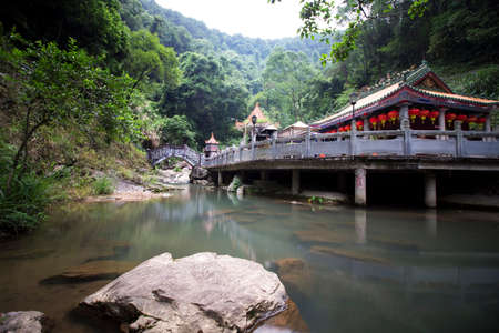 tourist resort: pankeng scenic tourist resort, Meizhou city