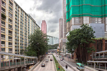 the local characteristics: Hongkong street, Tsuen Wan